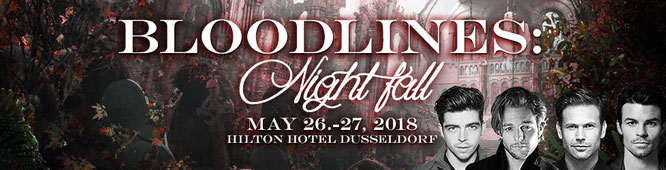 May 26-27, 2018 - Dusseldorf, Germany - Bloodlines: Nightfall - With Micah Parker and Chase Coleman.