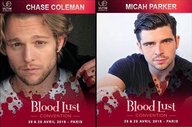 Apr 28-29, 2018 - Paris, France - Bloodlust - With Chase Coleman and Micah Parker.