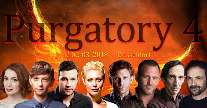 Jun 2-3, 2018 - Dusseldorf, Germany - Purgatory - With Ty Olsson and DJ Qualls.