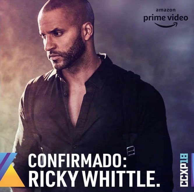 Dec 7-9, 2018 - Sao Paulo, Brazil - CCXP - With Ricky Whittle.