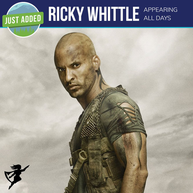 Mar 1-4, 2018 - Seattle, WA. - Emerald City Comic Con - With Ricky Whittle