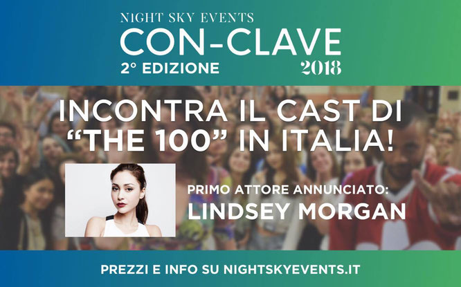 June 2, 2018 - Con-Clave - With Lindsey Morgan and Richard Harmon