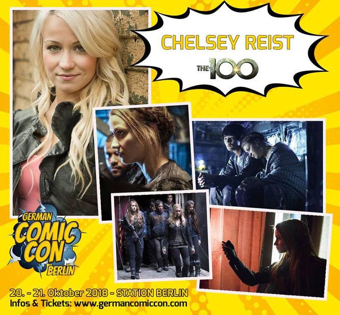 Oct 20-21, 2018 - Berlin, Germany - Comic Con Berlin - With Chelsey Reist.