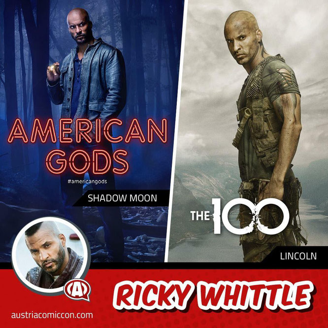 Apr 13-14, 2019 - Wels, Austria -  Austria Comic Con - With Ricky Whittle.