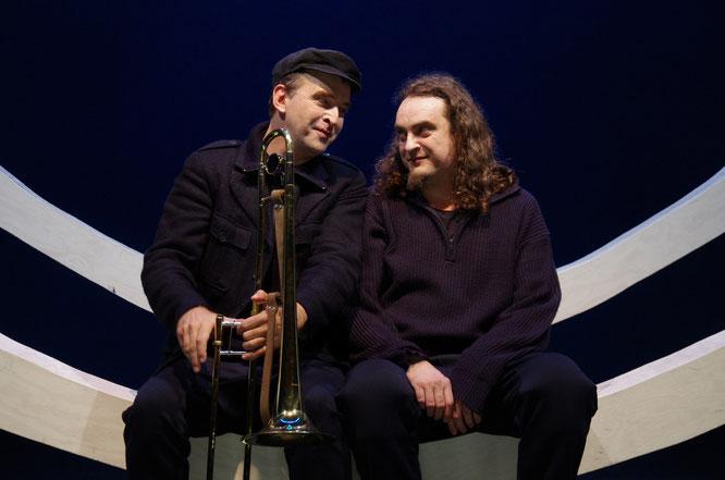 Peter Wolter und Greulix Schrank in 'Die Entdeckung Der Langsamkeit' SCHAUBURG, München
