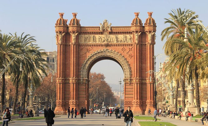 Triumpbogen Barcelona