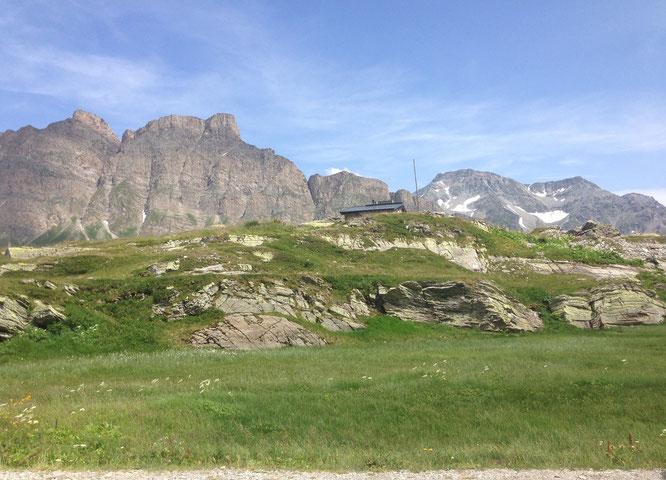 San Bernardino Passhöhe in Graubünden