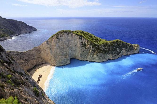 Strand von Lesbos