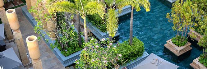 Gärten und Pools