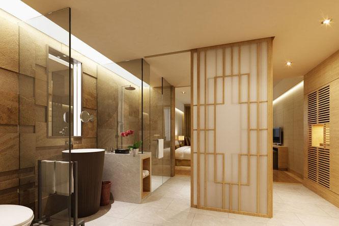 Zimmer in einem Hualuxe Hotel