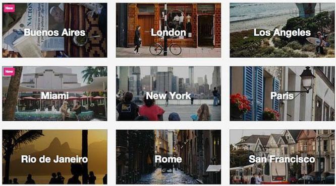 Weltweit Wohnungsvermietung auf Zeit