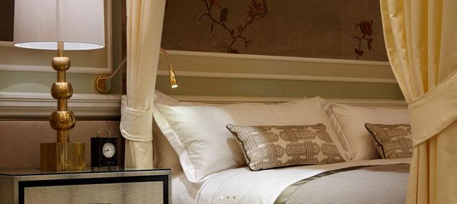 Luxuriöse Hotelzimmer