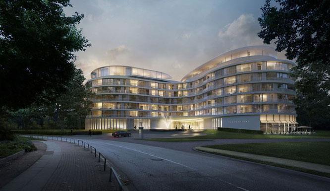 Der Hotel - Bau