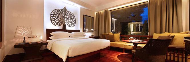 Zimmer im Hyatt Prak in Siem Reap, Kambodscha
