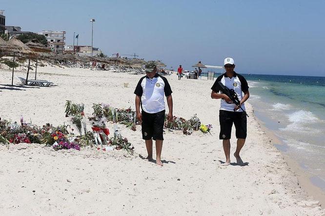 Nach dem Anschlag am Strand in Tunesien