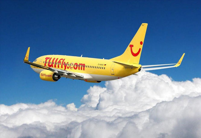 Tui - Flugzeug