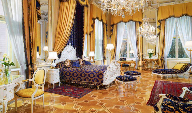 Suite im Hotel Imperial in Wien