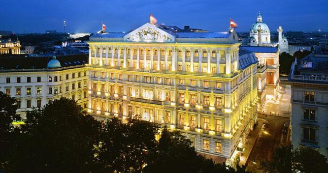 Hotel Imperial in Wien - Aussenansicht