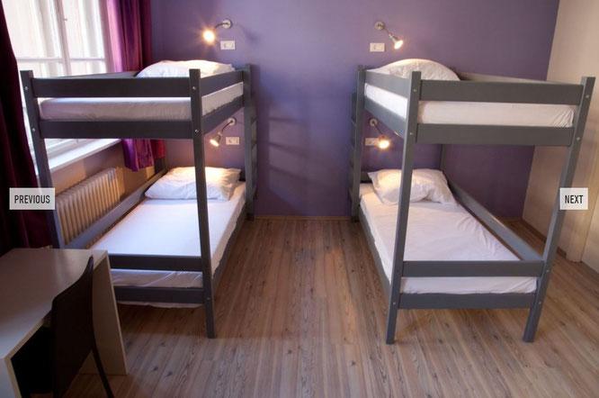 Unterkunft im Hostel Plus Berlin