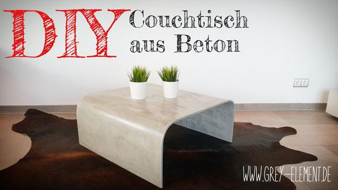 Diy Couchtisch Aus Beton Betonmobel Einfach Selber Machen Diy