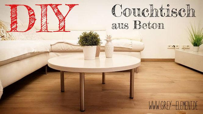 couchtisch aus beton selber machen ostseesuche com. Black Bedroom Furniture Sets. Home Design Ideas