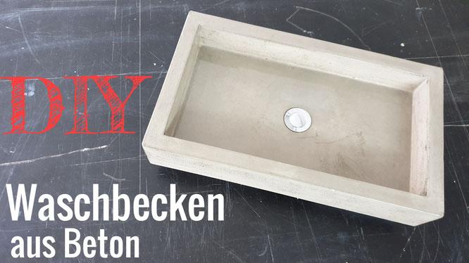 DIY Betonwaschbecken - Betonmöbel einfach selber machen -DIY-