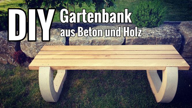 Eine Gartenbank selber bauen