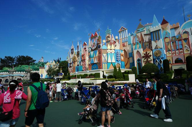 Tokyo Disneyland in Urayasu, east of Tokyo.