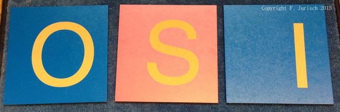 erstes schreiben, sandpapierbuchstaben