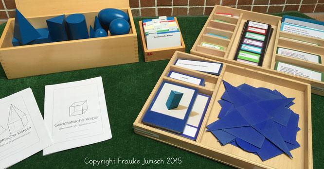 Material: Montessori lernwelten / Nienhuis / u.a.