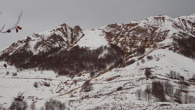 Avalanche sur le Fonta. © DDT 09