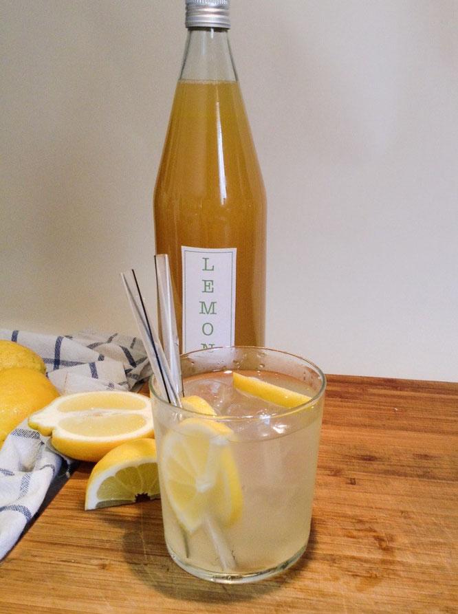 Bild: Zitronenlimonade, Lemonade, Limonada