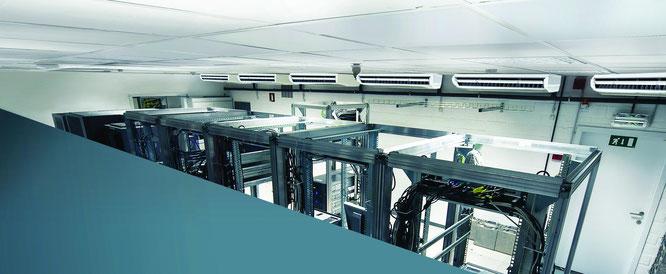 Redundante Wärmelastkompensationen für Technikräume und EDV