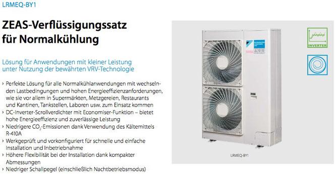 ZEAS-Verflüssigersatz für Normalkühlung