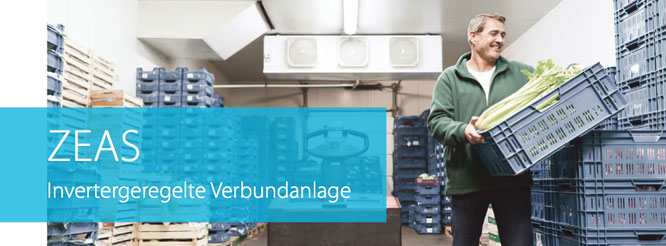 ZEAS Invertergeregelte Verbundanlage /Kühlanlagen für Normal- und Tiefkühlung von KÄLTEgrad! Kälte- und Klimatechnik - Essen