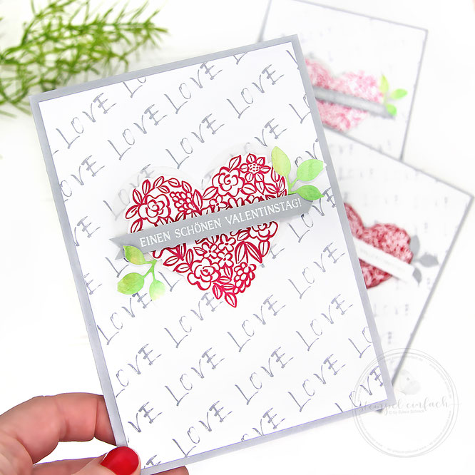 Herzige Karten zum Valentinstag-Stampin Up
