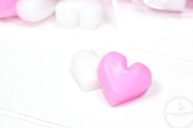 Seifen-Herzen-Valentinstagsgoodies