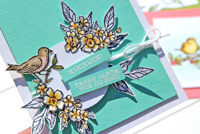 Karte-Vogelgarten-Stampin up