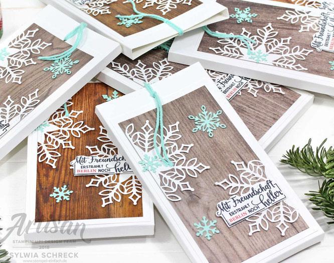 Leuchtende Weihnachten-Stampin up