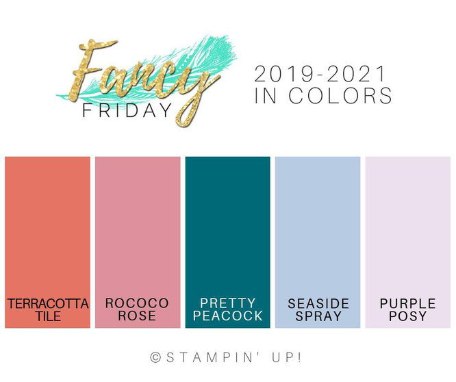 stampin up in colors by fancy friday
