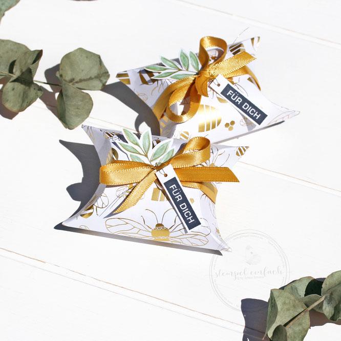 einfach Karte mit Borduere -Stampin up