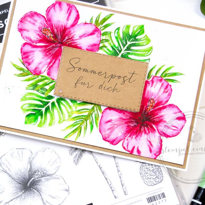 tropische träume-sylwia schreck for stampin up