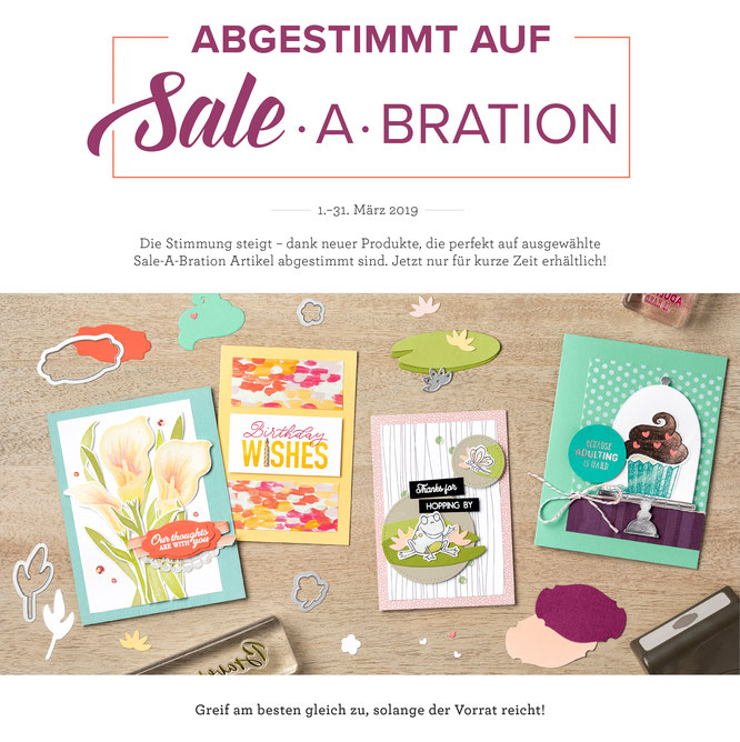 Sale A Bration - Stampin Up