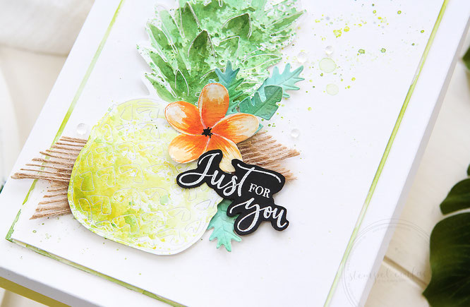 ananas verpackung-sylwia schreck for stampin up