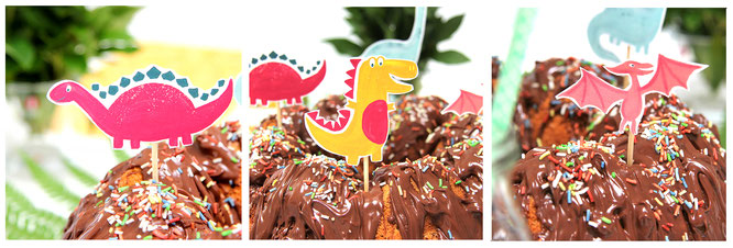 Dino-Land - Partystecker