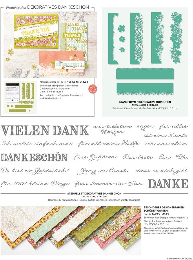 Produktreihe Schöner Garten-stampin up