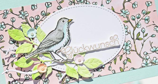 vogelgarten stampinup