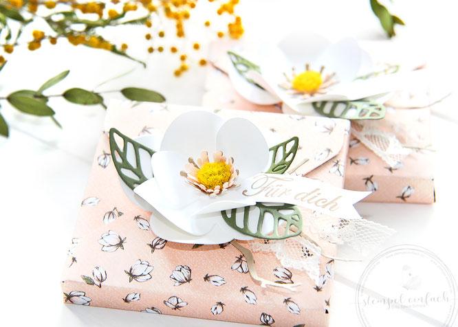 Verpackungen mit Magnolien-Stampinup
