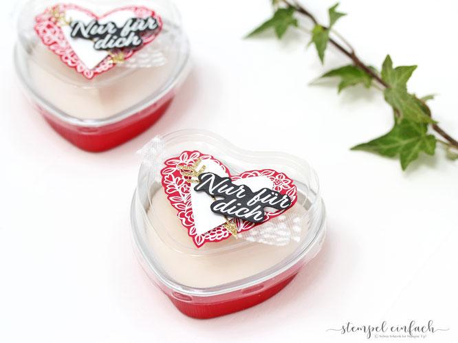 Romantische Kerzen zum Valentinstag