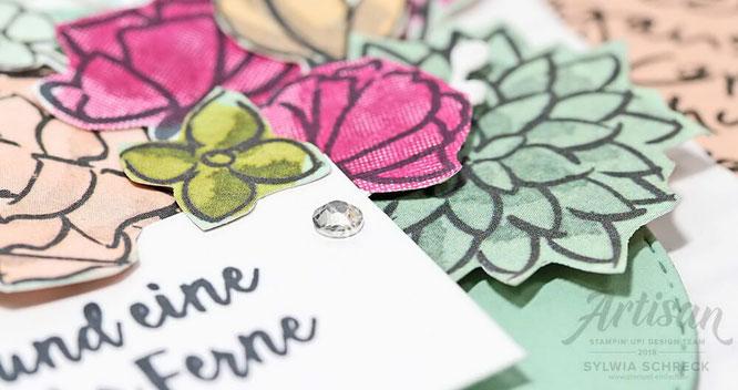 Stampin Up Frühlingsfreuden-Verpackung mit EPB